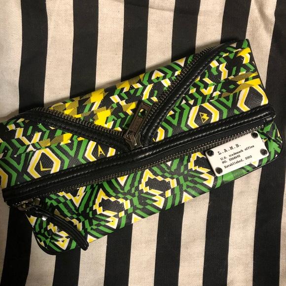 L.A.M.B. Handbags - LAMB Foldover Clutch